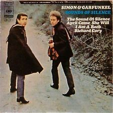 "SIMON & GARFUNKEL 'SOUNDS OF SILENCE' JAPANESE IMPORT 7"" EP"