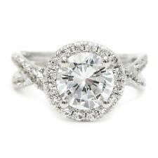 1.70CT ROUND CUT DIAMOND ENGAGEMENT SPLIT SHANK DESIGN