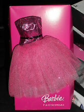 BARBIE FAO SCHWARZ EXCLUSIVE SPARKLING PINK DRESS!!!