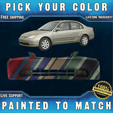 NEW Painted to Match - Front Bumper Cover For 2001 2002 2003 Honda Civic