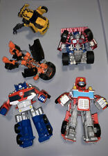 Lot Of Transformer Toys Some Are Parts: Optimus Prime & More From 2000?s