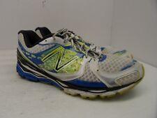 New Balance Men's 1080v3 Running Shoe M1080WB3 White/Neon/Blue/Black Size 13D