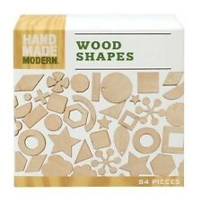 Hand Made Modern - Wooden Diecut - Shapes