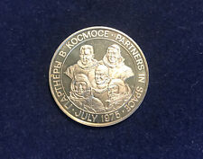 New Listing1975 Usa & Russia Partner's in Space Sterling .925 Silver Medal
