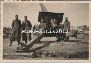 Foto, Wk2, Geschütz in Feuerstellung (N)50189