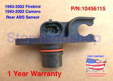 New ABS Wheel Speed Sensor fits 1993 - 2002 Camero Firebird Rear 10456115