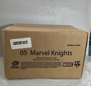 BOX OF 20 VS SYSTEM MARVEL KNIGHTS SEALED BOOSTER PACKS