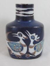 CRAZY BIRDS ROYAL COPENHAGEN Nils Thorsson Fajance Baca Vase 708/3207 1st Qualit
