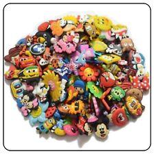 150 Pieces Job Lot Kids Jibbitz Croc Holey Clogs Plug Cute Shoe Charms Wholesale
