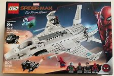 NEW LEGO MARVEL SPIDER-MAN FAR FROM HOME STARK JET THE DRONE ATTACK 76130 504PCS