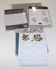 Stampin' Up! Botanical Prints Product Medley - (Retired) - NEW - No Ribbon