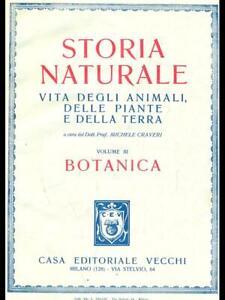 Storia Naturel Vol. 3 - Botanique Michele Craveri Anciens 0000