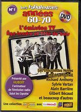 DVD LES ANNÉES 60-70 L'EMISSION TV AGE TENDRE ET TÊTE DE BOIS VARTAN/HALLYDAY..