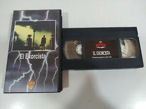 EL EXORCISTA WILLIAM FRIEDKIN BURSTYN VON SYDOW TERROR VHS Español - 2T