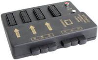 Caja conmutacion 4xEUROS+2RCA Euroconector