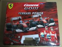 Slot Carrara go¡¡ F1 Ferrari Power circuito 2 mandos + 2 coches working