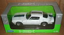 1/18 Scale 1972 Pontiac Firebird Trans Am Diecast Model  Muscle Car Welly 12566W