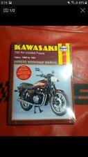 Libro KAWASAKI 750 4 cilindros Manual Haynes