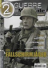 2e GUERRE MONDIALE N° 21 : LES FALLSCHIRMJÄGER ABANDONNENT CASSINO