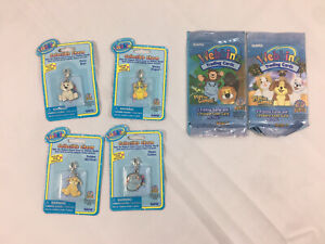 Lot Unopened Webkinz Charms (4) And Packs Of Trading Cards (2)