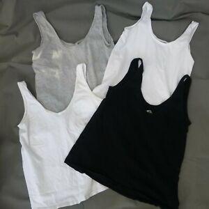 4 x Women's ASOS Maternity vest tops size 10