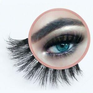 Cruelty-Free False Eyelash Soft Wispy Natural Soft Silk Fake Lashes FREE POSTAGE