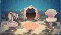 Pearl Shell Furniture Full Set 15pcs - Animal Crossing New Horizons
