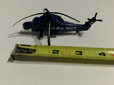 Zee A147 US Navy Kaman YSH-2E Seasprite LAMPS ASW Helicopter-Die Cast-Used -L@@k