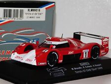TOYOTA GT ONE GT1 ZENT #1 BRUNDEL/COLLARD LE MANS 1999 ONYX XLM99016 1:43