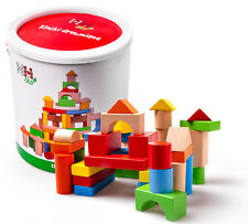 Spielzeug 200pcs Holzwürfel Alphabetblöcke Puzzle Blöcke Alphabetisierung Chips Mit Box
