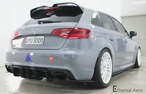 Audi RS3 Diffuser and splats - Ethereal Aero