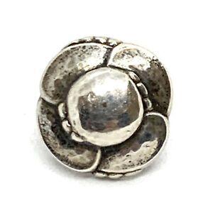 Georg Jensen #37 Sterling Silver Single Earring 16mm. Lot180.