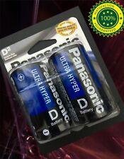 12 pcs Size D LR20 R20P Panasonic Heavy Duty Card 1.5V Zinc-Carbon Battery
