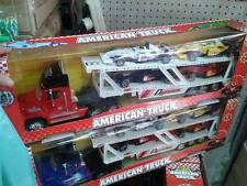 tir trasporto auto formula corsa Kit gioco di qualità giocattolo toy a75 natale