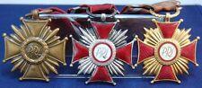 Polonia merito di croci in bronzo, argento e oro VZ