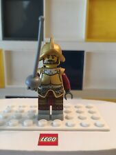 LEGO minifigures Series 8 8833 1 Conquistador minifigure knight army soldier B15