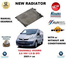 Für Opel Vivaro 2.0 16V 1.9 Di Dti 2001- > Neu Kühler Oe-Qualität