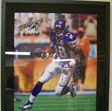Adrian Peterson Minnesota Vikings Autograph Signed 16 x 20 Photo UDA Cert. #8/28