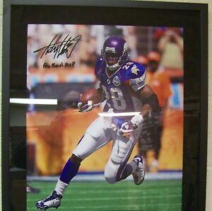 Adrian Peterson Minnesota Vikings Autograph Signed 16 x 20 Photo UDA Cert. #8/28