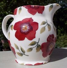 EMMA BRIDGEWATER 2015 CHRISTMAS ROSE HELLEBORE 1.5 PINT JUG UNUSED  1ST QUA;LITY