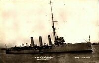 HMS Pathfinder RPPC postcard real photograph Royal Navy military antique