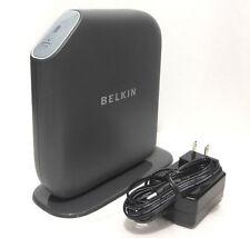 Belkin F7D2301 v1 Surf N300 Wireless-N Router 300-Mbps 4-port 802.11b/g/n WPA2 B