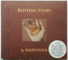 Madonna, Bedtime Story, Fold Out Digipack / Book includes CD Single Parts 1 & 2