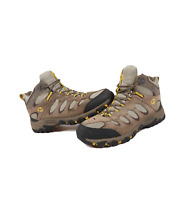 Merrell Ridgepass Mid Waterproof Suede Leather Hiking Trail Boots Brown Mens 11