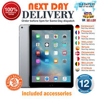 Apple iPad Air -16/32/64GB  Wi Fi or 4G 9.7In Silver & Space Gray Version Grades