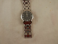 Bonia Sapphire Crystal watch  BN433 Stainless Steel 010091 Swiss 7.5""