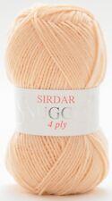Sirdar Snuggly 4 Ply Shade 186 Pretty Peach Five ( 5 ) X 50g Balls