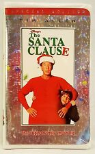 RARE VHS The Santa Clause Special Edition Disney Movie Metallic Clam Shell