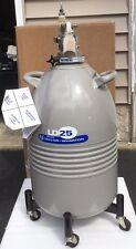 Liquid Nitrogen Cryo Dewar Tank 25LD w/Pressure Withdrawal Head LN2 **WARRANTY**