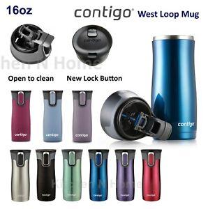 Contigo West Loop, Westloop 2.0 Autoseal Insulated Travel Mug 473ml Contigo Mug